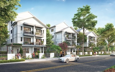 Khu chung cư cao cấp, dịch vụ hỗn hợp - Dự án khu đô thị Nam An Khánh